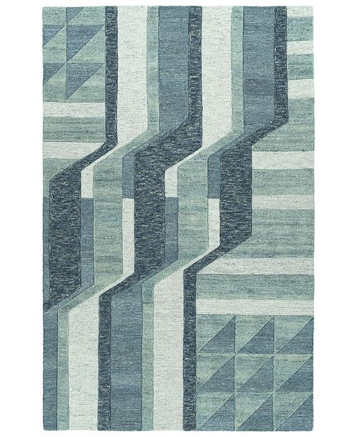 Kaleen Alzada ALZ02-17 Blue 8' x 10' Area Rug