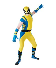 BuySeason Men's Wolverine Second Skin Costume