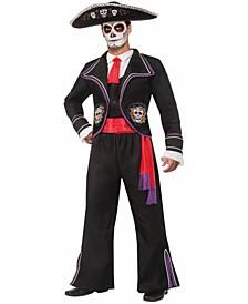 BuySeason Men's Day of Dead Macabre Costume
