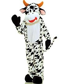 BuySeason Men's Cow Plush Economy Mascot Costume