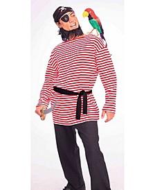 BuySeason Men's Pirate Matie Shirt Costume