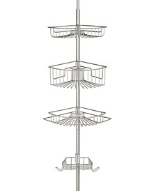 Lakeview E-Satin 4 Tier Tension Shower Caddy
