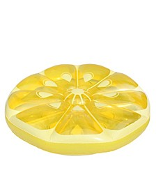 "49"" Inflatable Fruit Slice Circular Lounger Float"