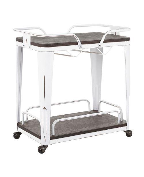 Lumisource Oregon Bar Cart