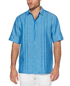 Men's Big & Tall Cross-Dyed Pintucked Shirt