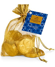Hanukkah Gold Coin Bag