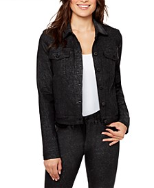 Lenna Sparkle Denim Jacket