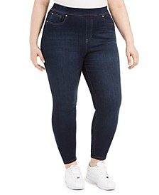 Trendy Plus Size High Rise Lifter Pull On Jean