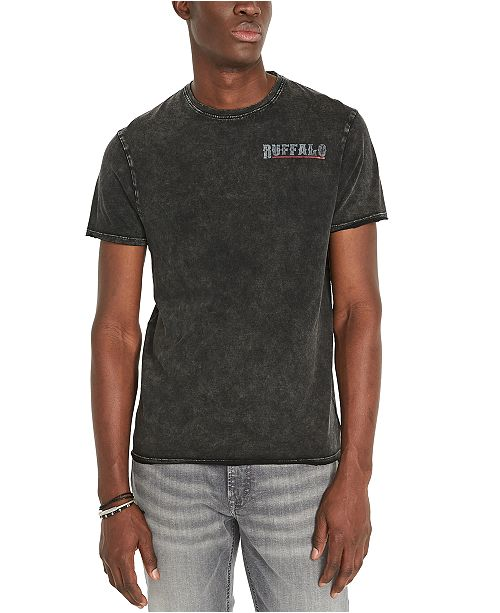 Buffalo David Bitton Men's Turocky Logo Graphic T-Shirt