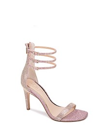 Jewel Badgley Mischka Regina Ornamented Sandal