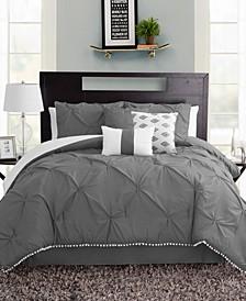 Pom-Pom Full 7 Piece Comforter Set