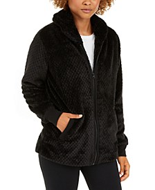 Quilted Fleece Jacket, Created for Macy's