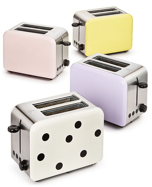 kate spade new york All In Good Taste Toaster Collection