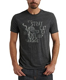 Men's Stray Cat Garage Graphic T-Shirt