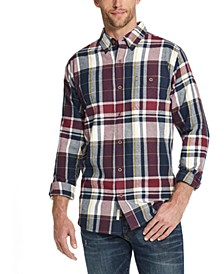 Men's Exploded Flannel Plaid Shirt