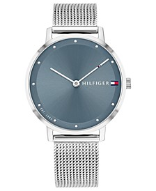 Women's Stainless Steel Mesh Bracelet Watch 35mm, Created for Macy's