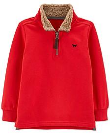 Toddler Boys Half-Zip Fleece Pullover