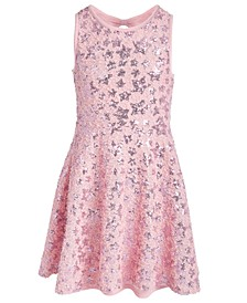 Big Girls Sequin Star Dress, Created For Macy's