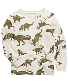 Toddler Boys Dino Thermal T-Shirt, Created For Macy's