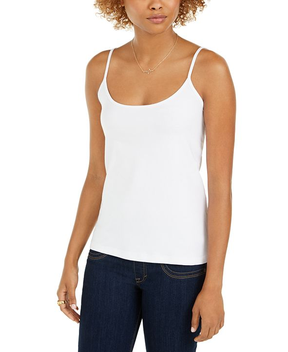 Style & Co Fitted Camisole, Created for Macy's