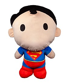 World Plush Toys 4' Dc Chibi Style Superman Plush