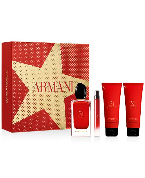 Giorgio Armani 4-Pc. Sì Passione Eau de Parfum Gift Set
