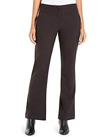 Snap-Waist Tummy-Control Trousers, Created For Macy's