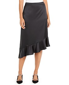 Asymmetrical Ruffle-Hem Skirt, Created For Macy's