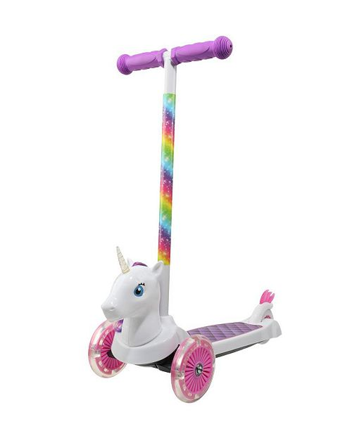 SAKAR Dimensions 3D Unicorn Tilt & Turn Scooter