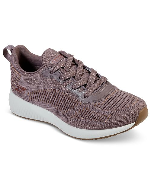 Skechers Women's BOBS Sport Squad Glam League Fashion Walking Sneakers from Finish Line