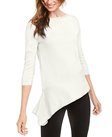 Asymmetrical-Hem Sweater