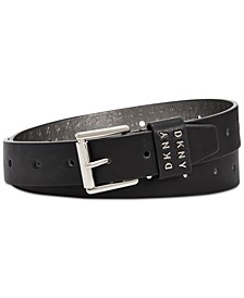 Belt With Holes Throughout