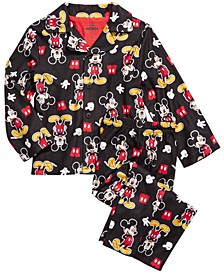 Toddler Boys 2-Pc. Mickey Mouse Pajamas Set