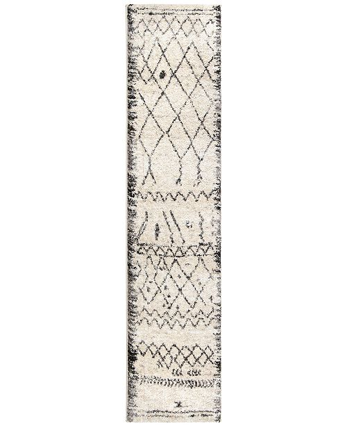 Palmetto Living ORI416824 Casablanca Tribal 08 Multi 2'3 x 8' Runner Rug