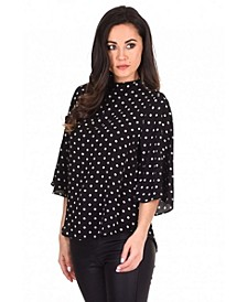 Women's Polka Dot Top