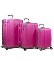 Kingsley 3-Pc. Hardside Spinner Luggage Set