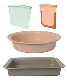 Leo Collection 4-Pc. Starter Bakeware Set