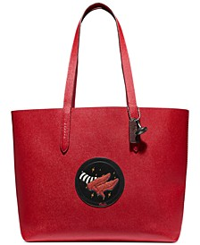 Box Program Wizard Of Oz Crossgrain Leather Highline Tote