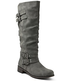 Mayson Wide Calf Tall Boots