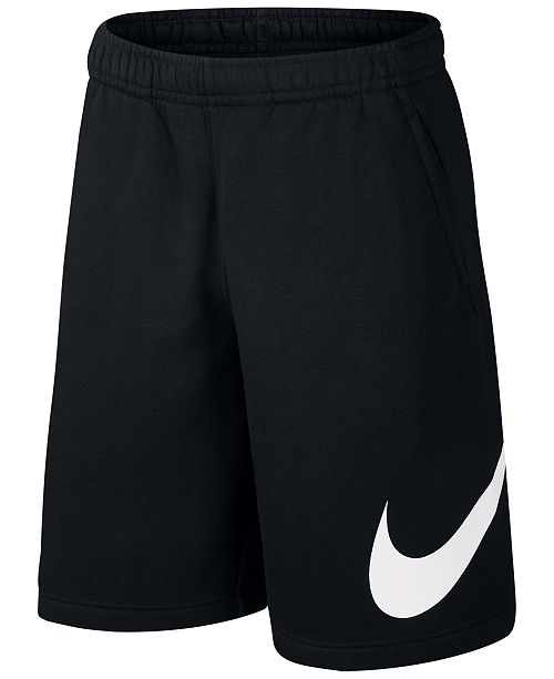 Nike Sportswear Club Logo Fleece Shorts