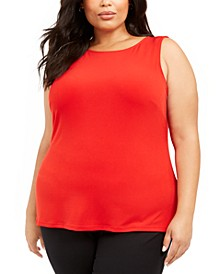 Plus Size Sleeveless Top, Created for Macy's
