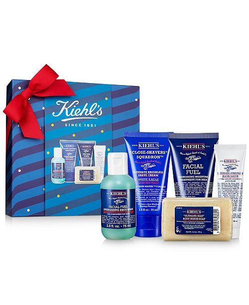 Kiehl's Since 1851 5-Pc. Men's Grab & Go Essentials Gift Set