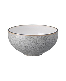 Studio Craft Grey/White Ramen/Large Noodle Bowl