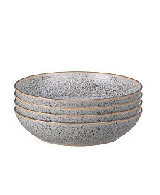 Denby Studio Craft Grey 4 Piece Pasta Bowl Set
