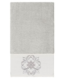 100% Turkish Cotton Alyssa Embellished Bath Towel
