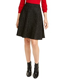 Tweed A-Line Skirt, Created For Macy's