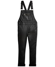 Big Girls Stretch Cotton Denim Overall