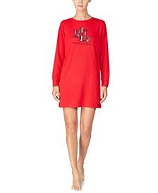 Women's Cozy Lounger Logo Sleepshirt Nightgown