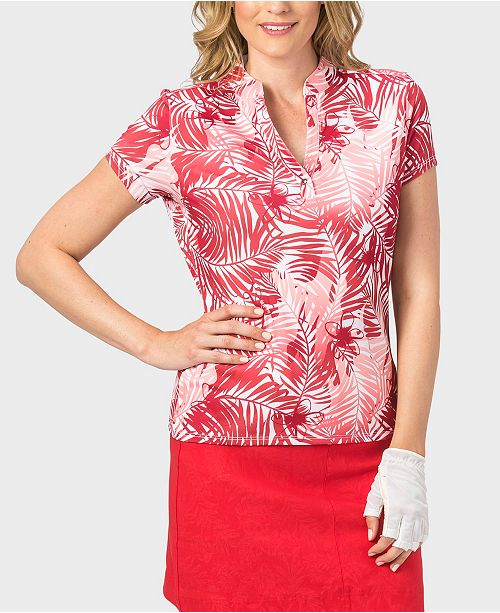 Nancy Lopez Tropic Short Sleeve Polo