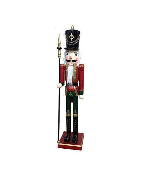 "Santa's Workshop 60"" Royal Guard Nutcracker"
